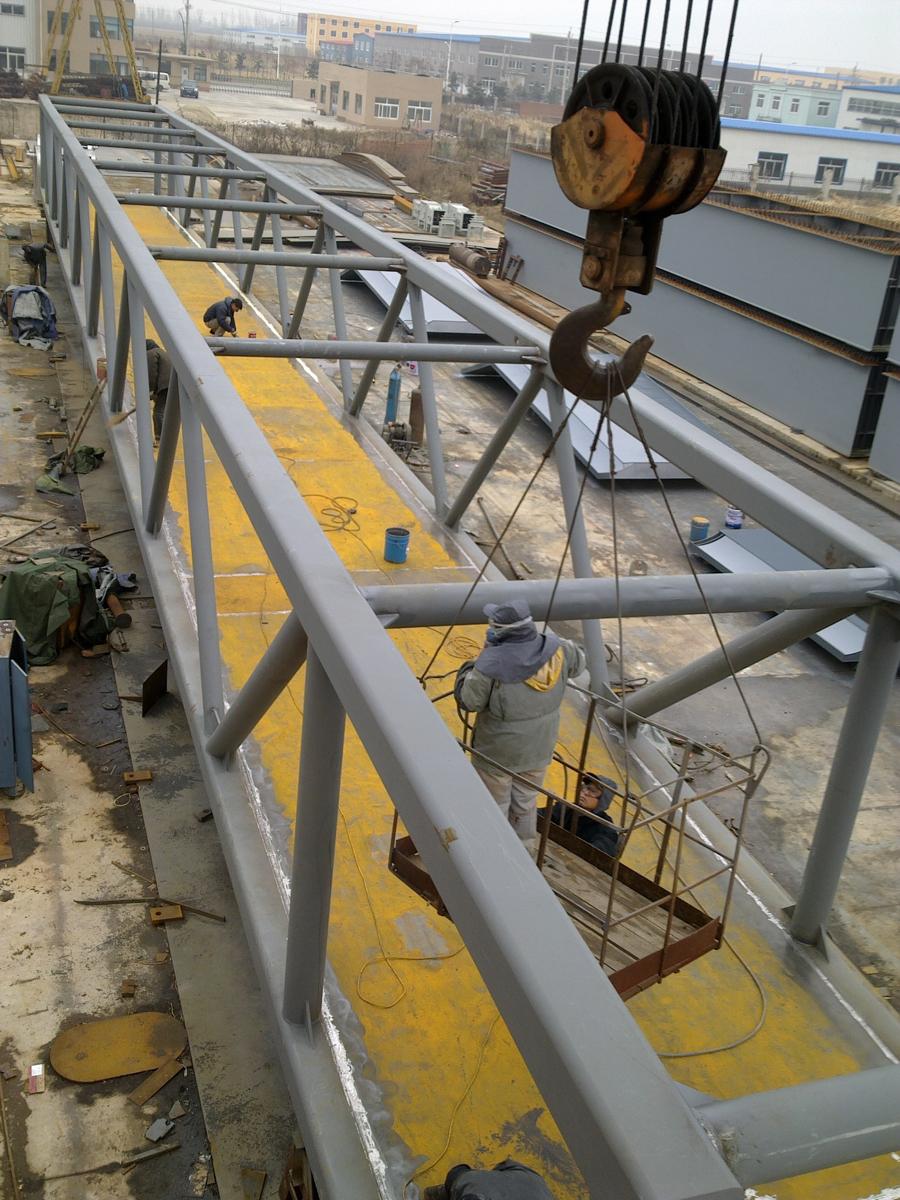 过街钢桥 - 沈阳钢梁钢结构,架车机,调梁机,钢支撑,钢